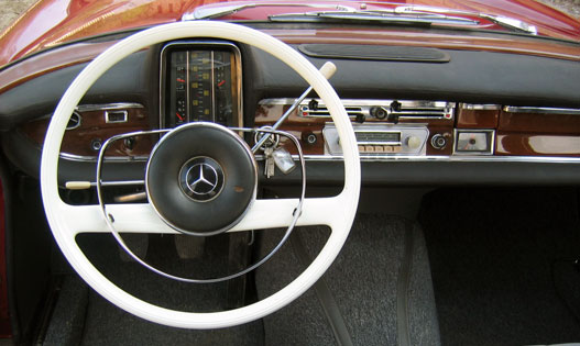 A Mercedes elképzelése az ergonómiáról - '65