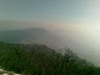 Kilátás a Pilis-oldalból