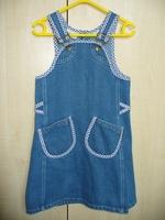 3-4-5 év (szinte együtt nő a gyerekkel ) farmer ruha cde8134422