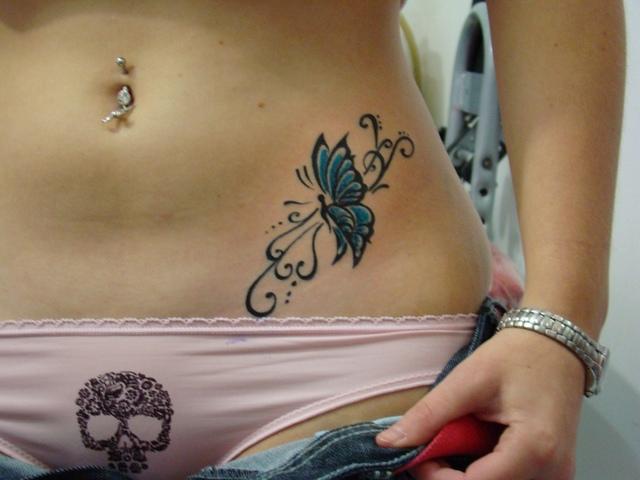 Nőknek intim tetoválás Iszonyatosan izgató