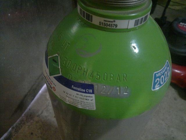 Co2 palack nyomása