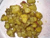 tökmagolajas-hagymás krumpli