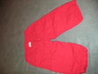 46e6eca380 Dodipetto olasz piros nyári vászon nadrág.Zsebes és strasszal diszítve.alig  használt,szép állapotú!