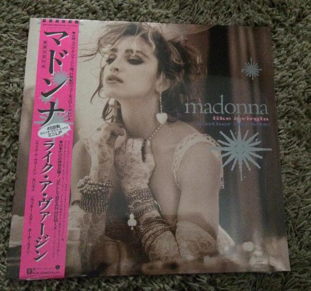 Like a Virgin & Other Big Hits Pink vinyl Re-release, RSD 2016 Special Release