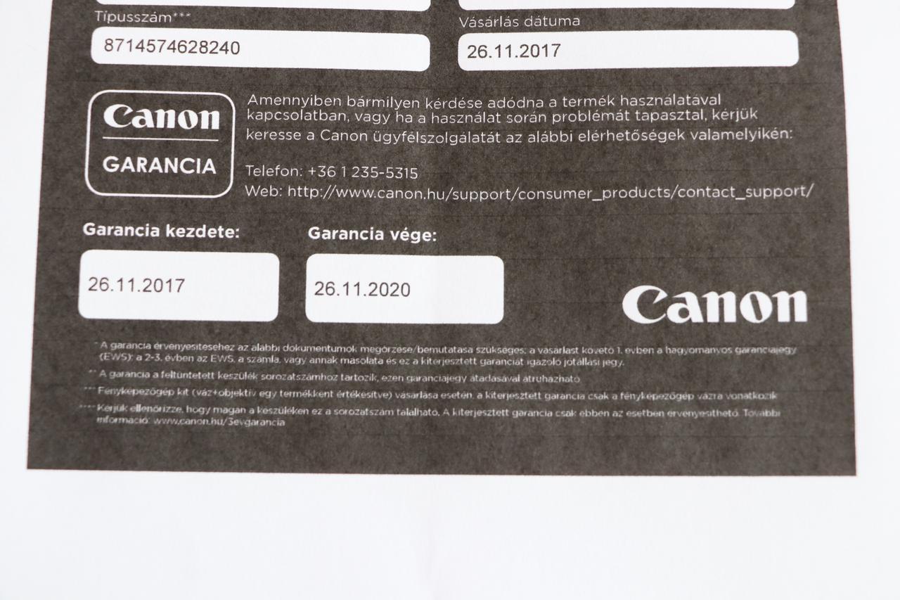 22ba100a188c Canon EOS adok - veszek - Index Fórum