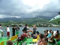 Tahiti, Moorea Expressz Ferry-ről