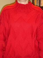 piros pulcsi