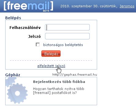 Hu bejelentkezés freemail cdn.dewtour.com