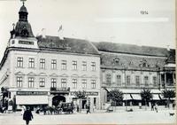 Centrál Kávéház 1914