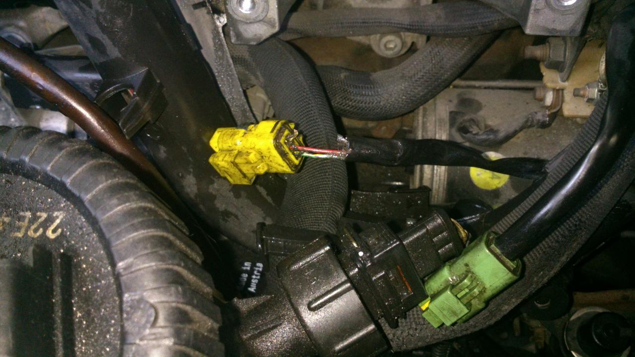 Peugeot 307 üzemanyag szintjelző hiba