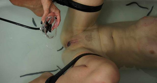 Bondage Clit Torture Orgasm