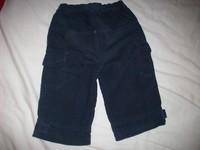 07ca8d2cf2 2. Bélés nélküli sötétkék kord nadrág, szintén jó állapotban. Teljes hossz:  41 cm, bszh: 22 cm, derék: 23-28 cm. 600 Ft + posta