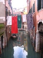 Életkép a cannareggio városrészen