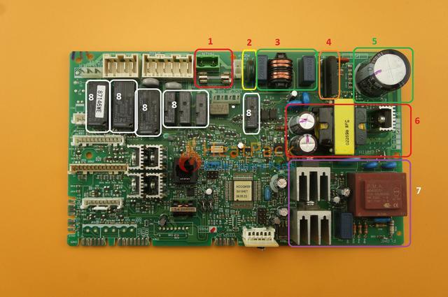 csatlakoztassa az alaplap fűtőtest termosztátját