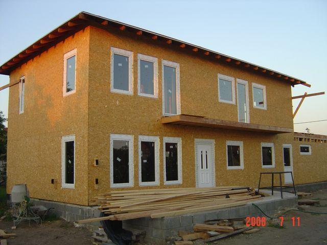 Osb ház házilag