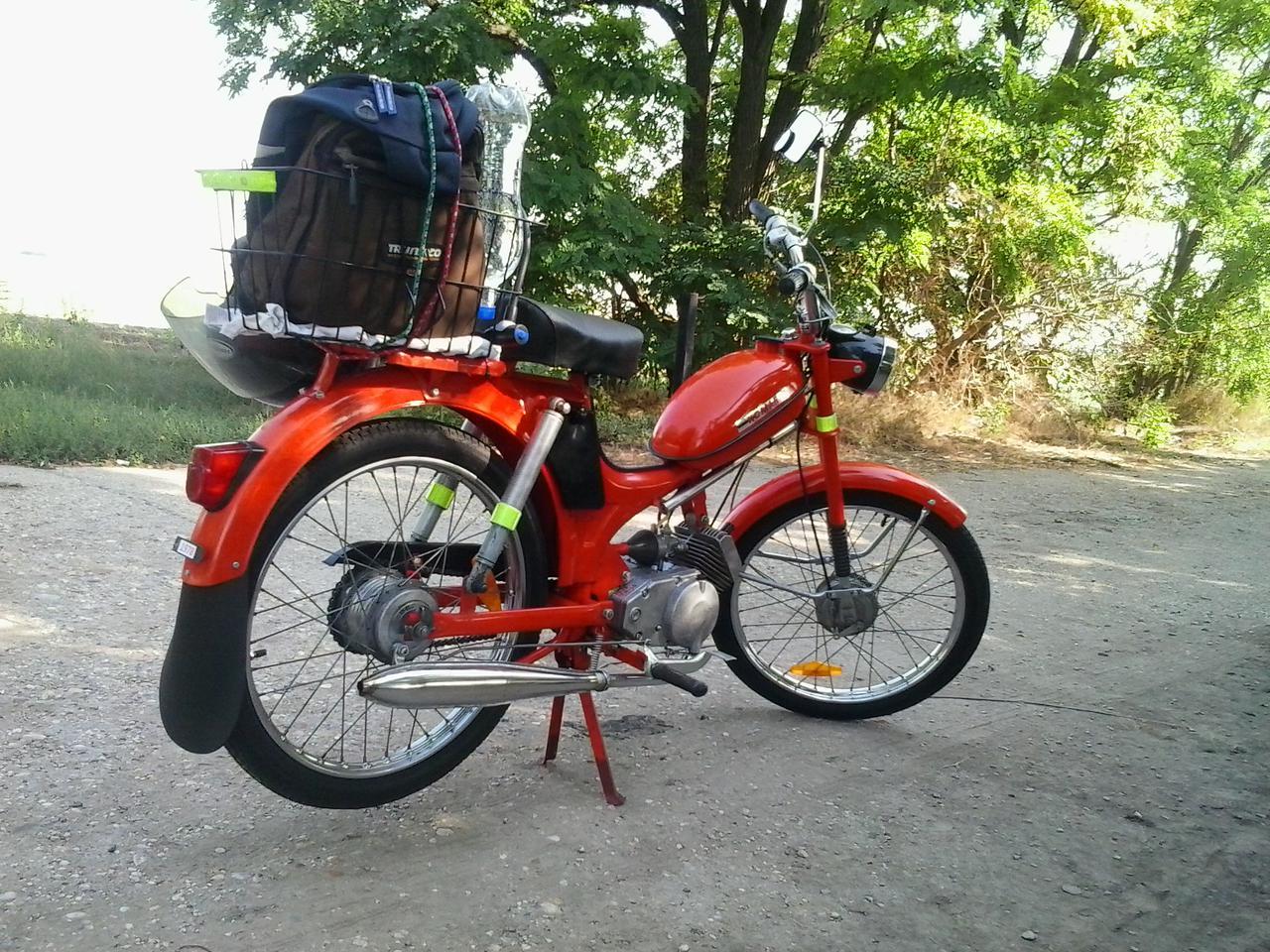 Komár moped története