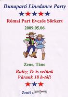 Római parti linedance