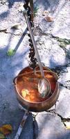Vegyes halászlé, Csaba-féle halból, Mijo módra.
