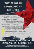 Szolnoki Szovjet Jármű Találkozó, Túra és Találkozó plakátja