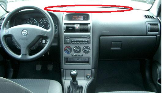 Opel astra g műszerfal nem működik