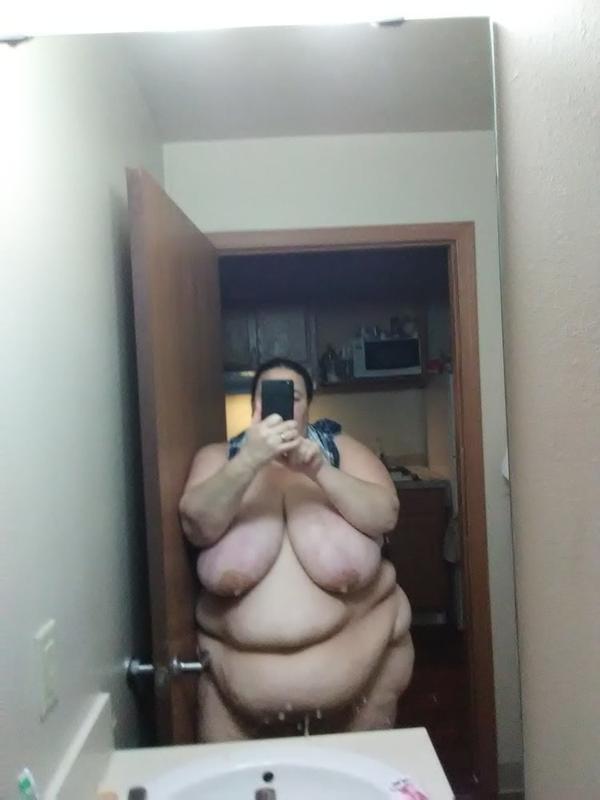 Fat ssbbw selfie