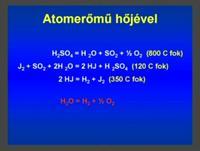 HidrogenBontas Atomhovel.