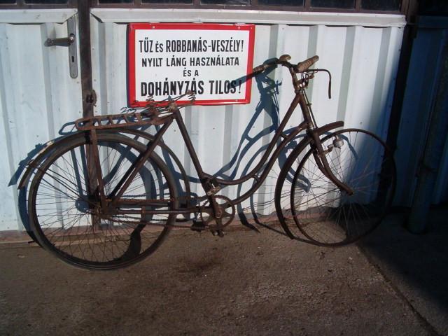 Robbanásveszély kerékpár
