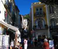 ebben az utcaban, Sintra