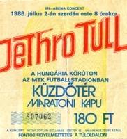 Jethro Tull 1986