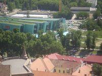 Az Aquapark a Bazilikából nézve