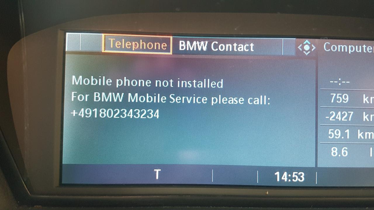 Bmw e61 távirányító nem működik