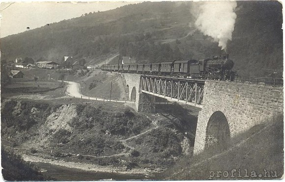 A Kvasi viadukt in Hungarian times