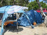 cea684cb040c Ha sikerülne beszerezni az új sátrat, akkor ezt viszont eladnánk, ha  valakit érdekel. 6 személyes, 2 fülkés RP sátor: