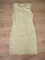 49dbe916b6 Pasztellsárga színű, nagyon szép szabású és fazonú, kb. térdig érő elegáns  ruha. Egy boleróval vagy blézerrel nagyon csinos. Hibátlan, újszerű  állapotú.