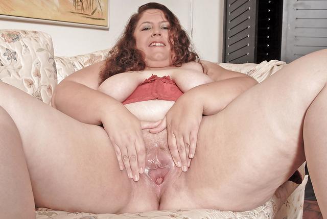 Fat lady pussy