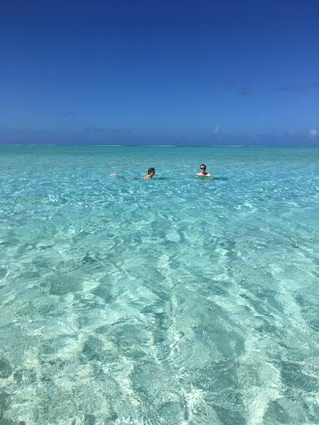 Na ilyet nem sok helyen lát az ember: Matira beach