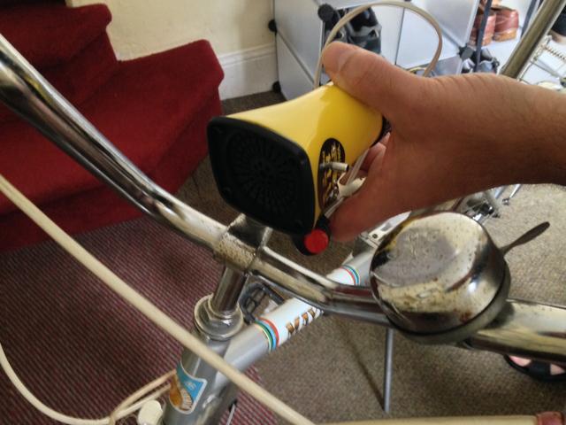 Retro bicikli sziréna