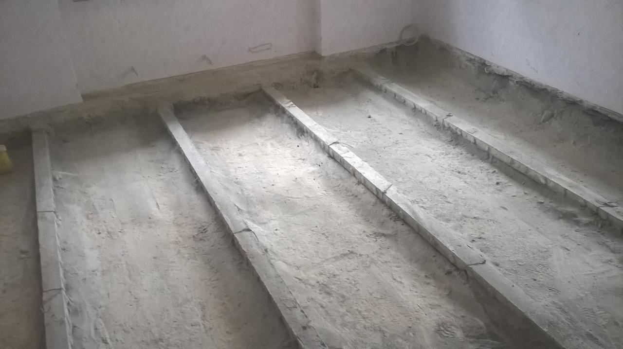 Padlófűtés beton