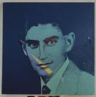 Andy Warhol - Ten Portraits of Jews of the Twentieth Century: Franz Kafka, 1980