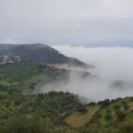 A hegyen át úton Heraklion felé