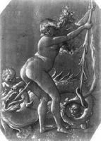 baldung_witch and dragon