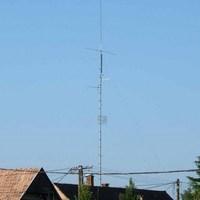 Bázis antenna árbócom