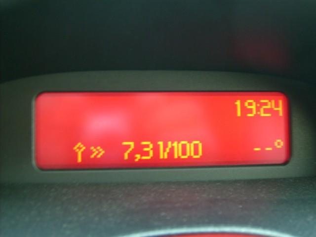 Peugeot 206 hőmérséklet jeladó hiba