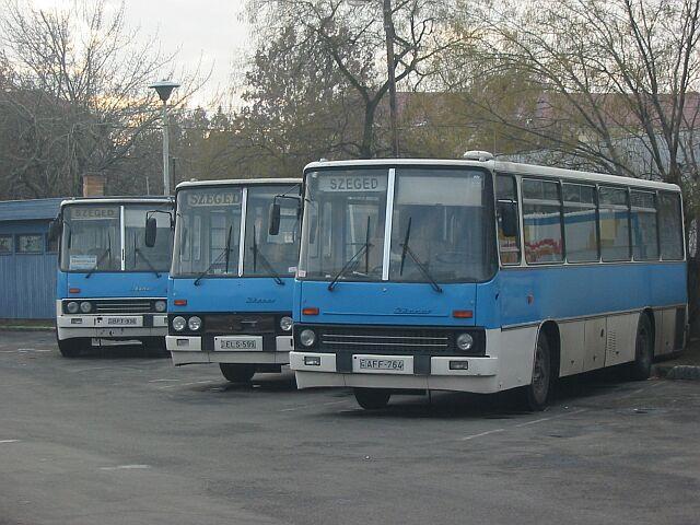 IK 266-osok a Tisza Volánnál