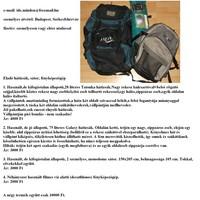 9c257221c6b9 Eladó a képen látható analóg vízalatti fényképezőgép, 2 hátizsák és sátor  együtt 10000 Ft-ért. Részletek a mellékelt képen.