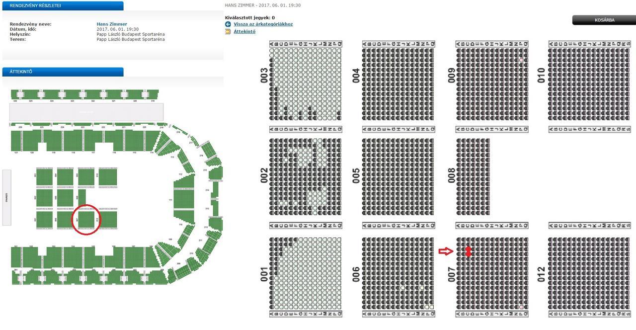 001 szektor t sor 16 szék