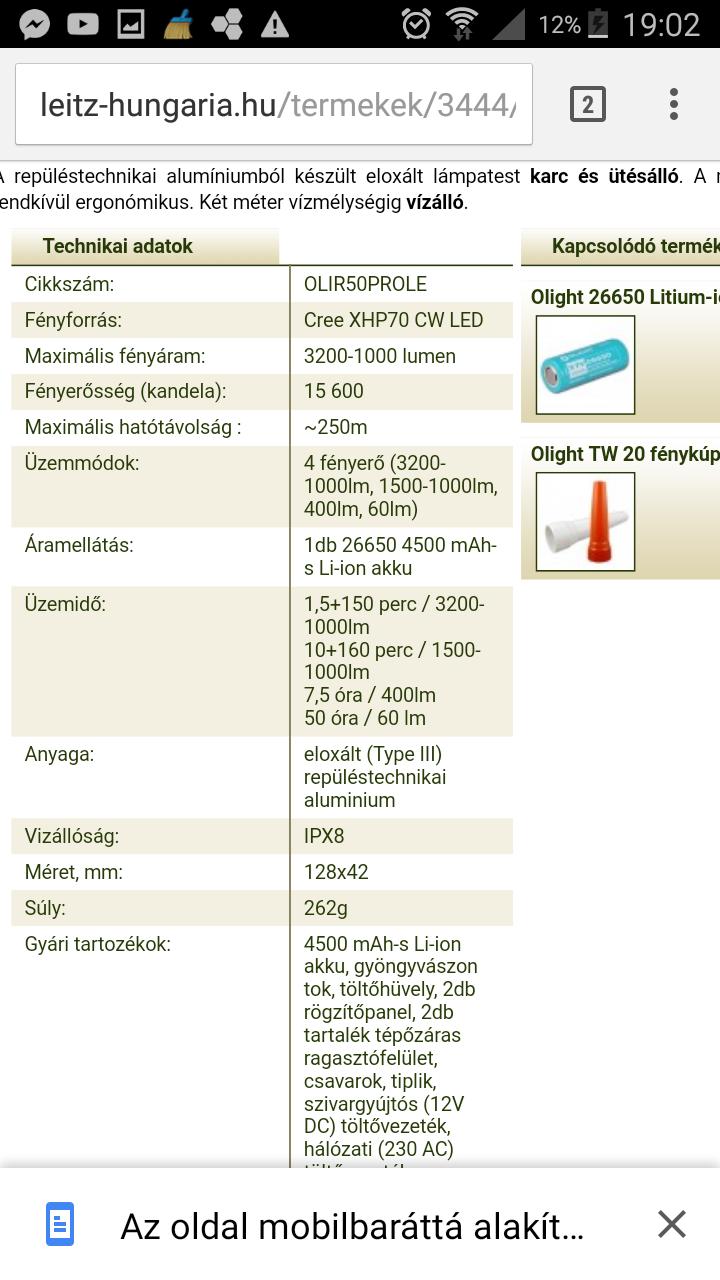 Elemlámpa topic - Index Fórum 5bb1d252f0