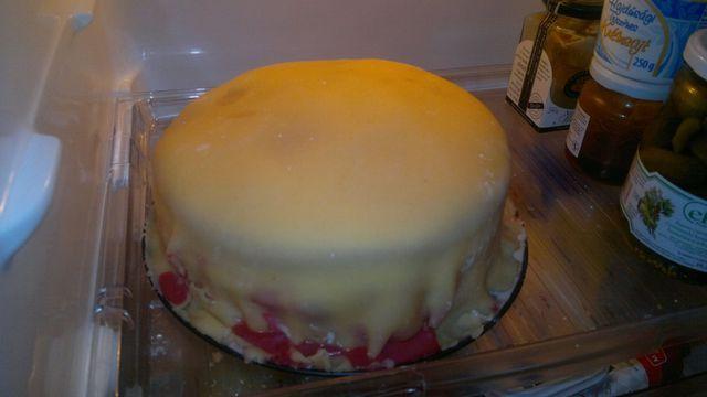 Először anális krém torta