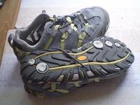 5fcd90798f94 Használt, de jó állapotban lévő Merrell waterproof ultra sport grey/lime  (tavaszi-nyári) női cipő.