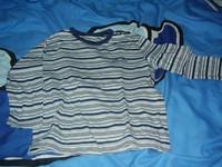 be2ab57fc7 3 évesre való Cherokee, vékony, hosszúujjú póló, az utolsó ajándék: 400/db  vagy egyben: 1.000,-
